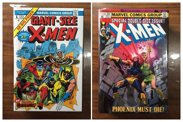 Uncanny X-Men Omnibus Volumes 1 & 2