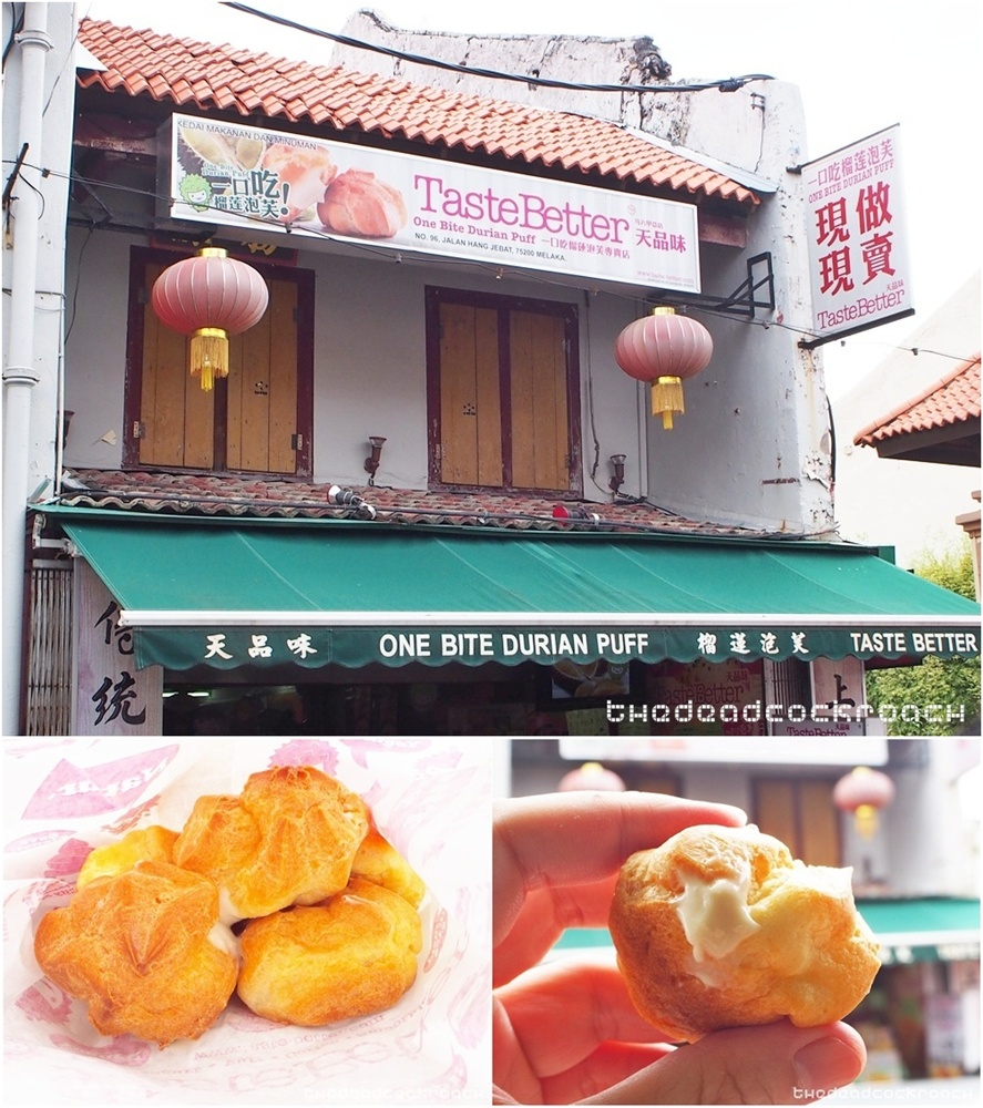 jonker, jonker street, jonker walk, malacca, malaysia, travels,  马六甲, 鸡场街,durian puff,one bite durian puff