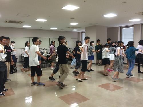 総文祭実行委員会ダンス練習