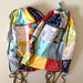 Charm square backpacks made as gifts for some entomological friends by Bloom and Blossom