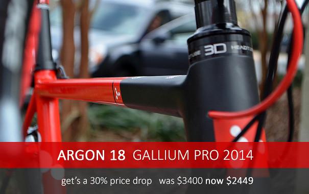Argon 18 2014 Gallium Pro 30% Off