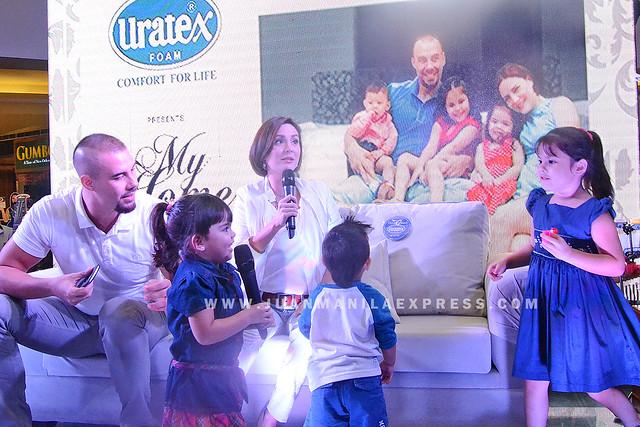 TEAM KRAMER TRUSTS URATEX. Team kramer is the family endorser of the leading mattress brand, Uratex.