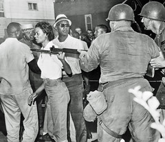 Gloria Richardson brushes off National Guard: 1963