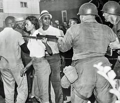 Gloria Richardson brushes off National Guard: 1963