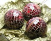 mosaic ornament balls