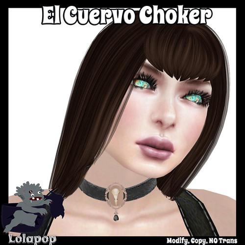 LolapopLogo-ElCuervoChokerAd