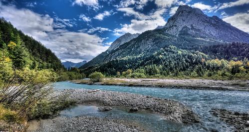 bayern deutschland tirol natur alpen landschaft österreich risbach