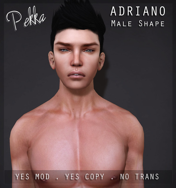 pekka adriano male shape