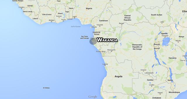 Location Of Wakanda
