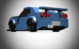 Lego Nissan Skyline R34