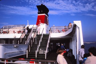 Denmark to Sweden   -   Ferry from   Frederikshavn to Göteborg   -   13 April 1987