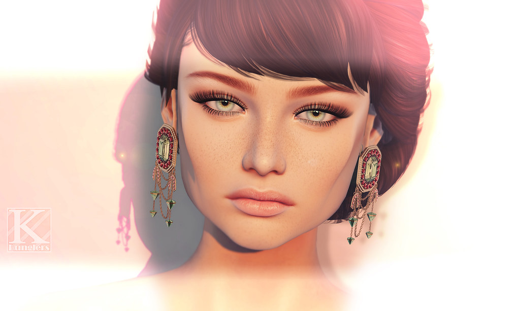 (Kunglers) Rita earrings AD - SecondLifeHub.com