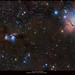 From Orion To Grand Mesa (panorama of Barnard's Loop to The Horsehead)