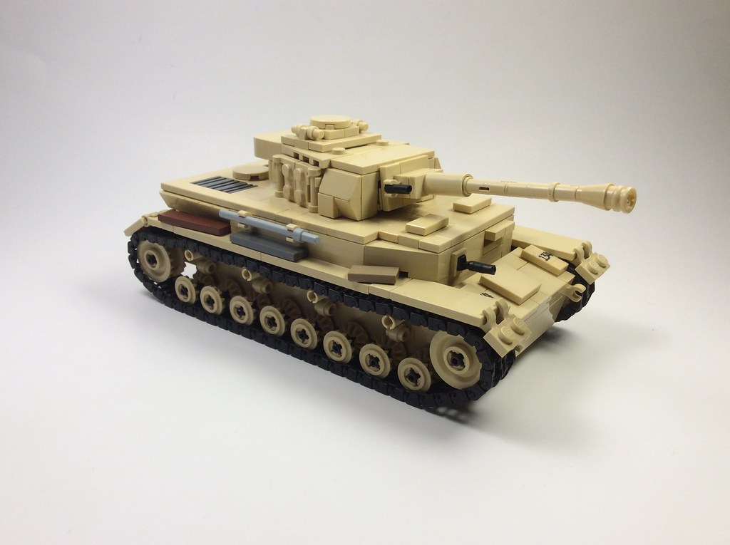Panzer IV Ausf G (custom built Lego model)
