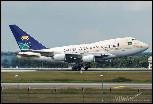 Saudi Arabian Royal Flight Boeing 747SP