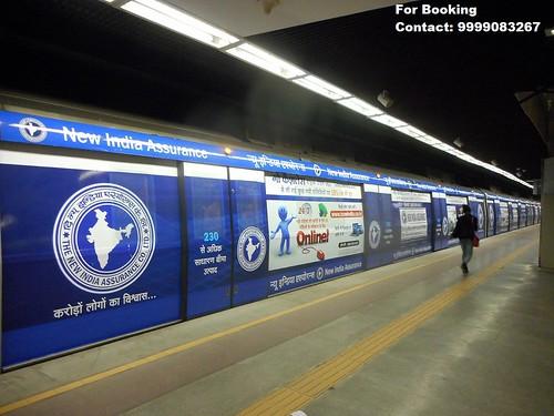Delhi Metro Advertising in India