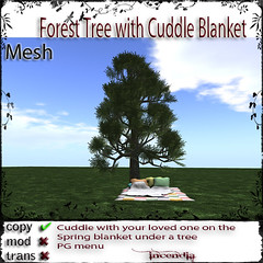 Forest Tree with Cuddle Blanket