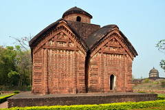 India - West Bengal - Bishnupur - Jorbangla Temple - 74