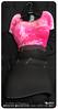 Razor/// Riot Dress - Pink Grunge
