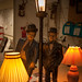 Laurel and hardy lamp €100