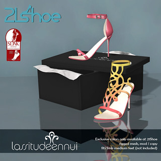 lassitude & ennui for 21 Shoe