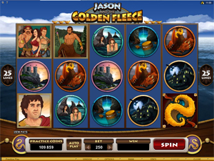 Jason and the Golden Fleece Slot Machine