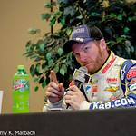 Dale Earnhardt Jr Wags His Finger