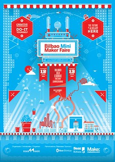 Cartel de la Bilbao Maker Faire 2014.