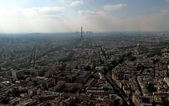 Paris, view from Tour Montparnasse