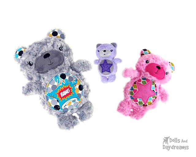 ITH Teddy Bear - Memory Bear Pattern