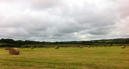 ireland sky field clouds landscape view cloudy ominous cork hay bales silage boherbue ilobsterit