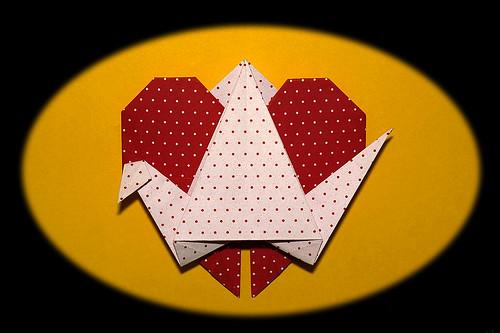 Origami Crane-Heart (Andrea Peggion)
