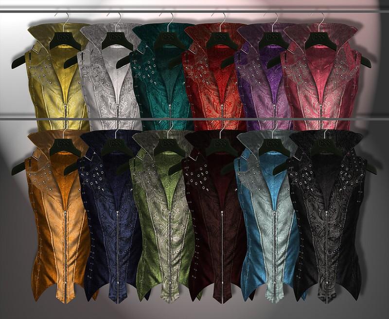 A:S:S - Dorian vests