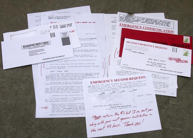 60 Plus junk mail