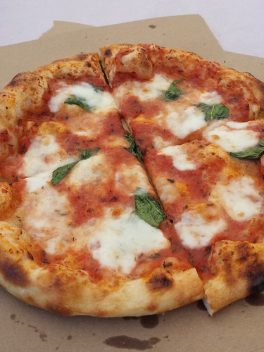 Margherita from Ash Wood Fired Pizza
