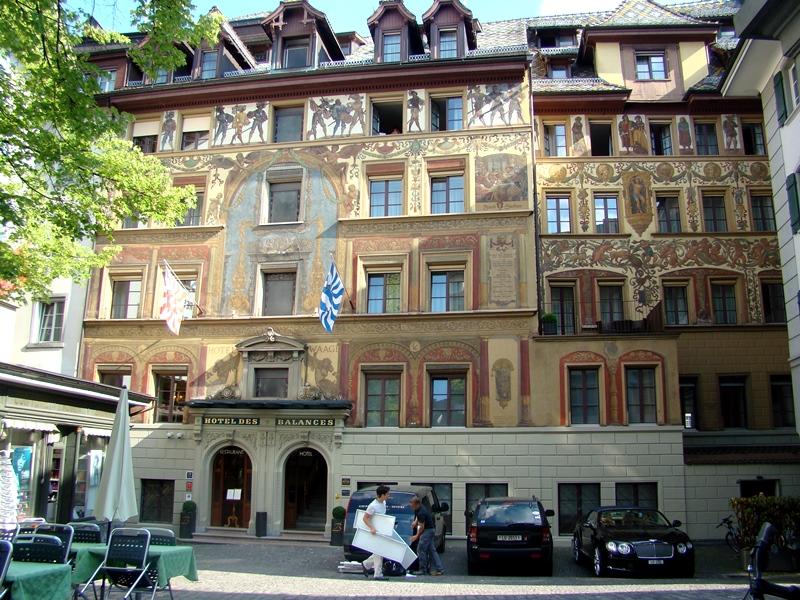 Hotel des Balances Luzern