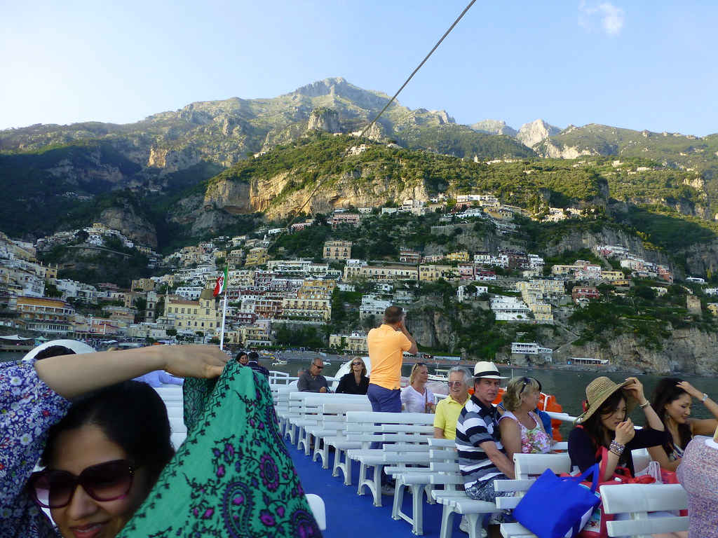 Just made it to the boat back to Amalfi!