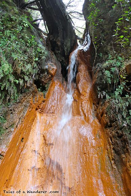 PÓRTUGOS - Fuente Agria / Cascada del Chorrerón