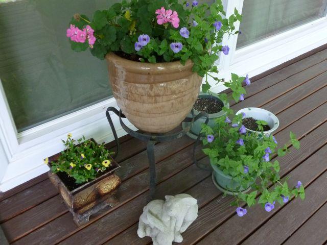 June porch planters 1