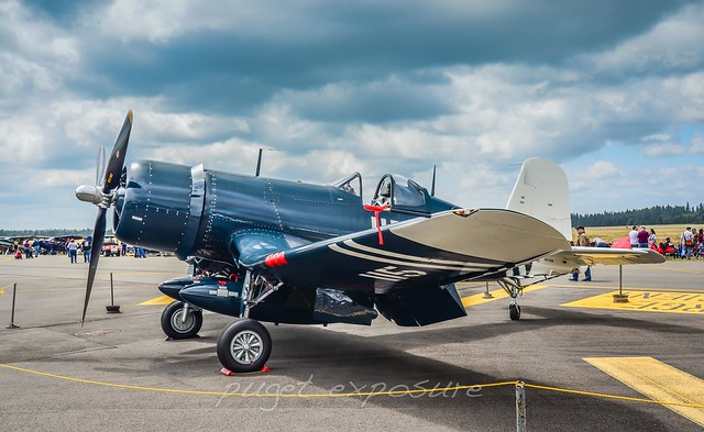 Olympic Flight Museum FG-1D Corsair