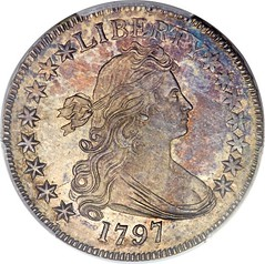 Norweb 1797 Half Dollar obverse