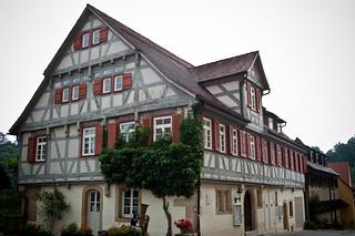 Altes Fachwerkhaus, Waldenbuch, BaW�. Foto: Stephan Benz