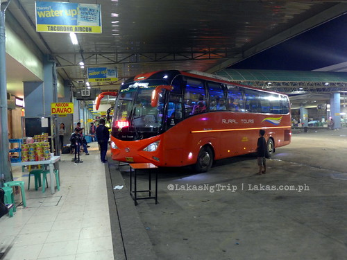 The bus we rode at Agode Terminal in Cagayan de Oro at 3:00 AM.