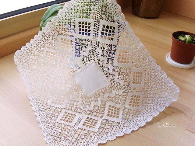 Bobbin Lace Handkerchief