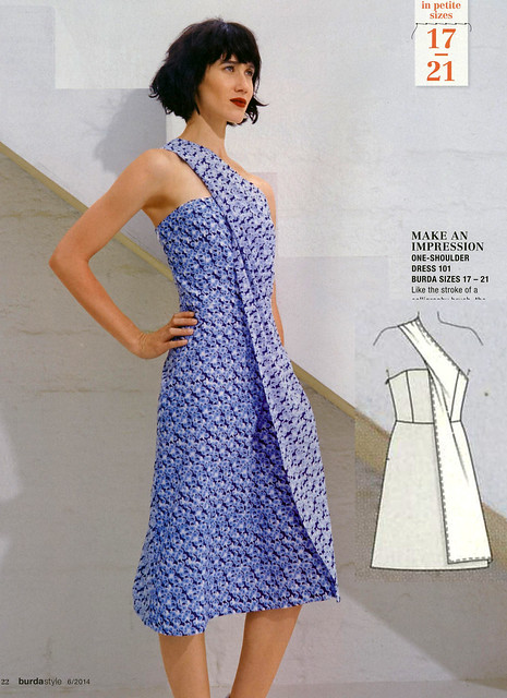 Burda-June-2014_Oragami Dress