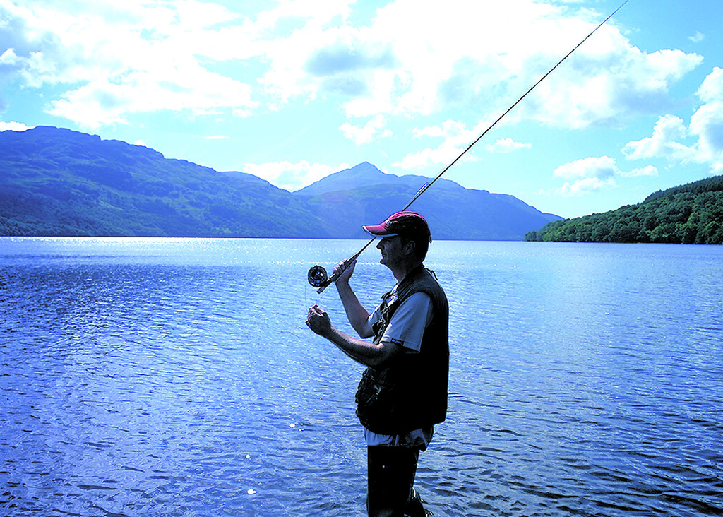 Fishing Loch Lomond Scotland