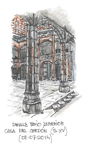 Patio Casa del Cordón (S.XV)
