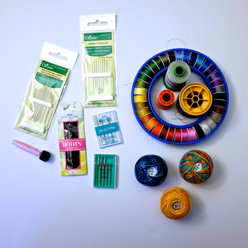 Thread & Needles - A Quilter's Kit 1