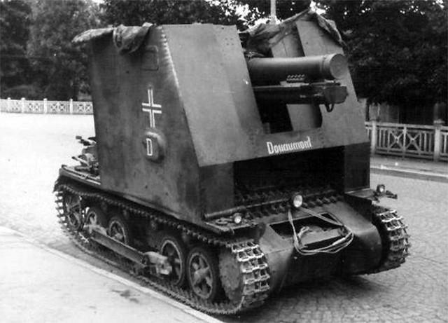 Sturmpanzer I Pz.Kpfw. I Ausf. B (Ausführung B) Bison