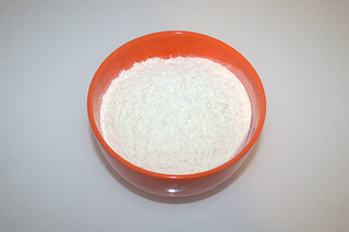 01 - Zutat Mehl / Ingredient flour